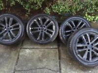 Vauxhall 17inch wheels