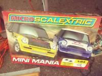 Mini mania scalextric