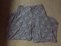Ladies Wide Leg Trousers - Size 12