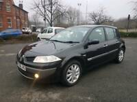 **2006/56 RENAULT MEGANE 1.6 DCI 1 OWNER £30 YEARLY TAX LONG MOT WELL LOOK AFTERD**