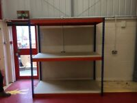 SUPER HEAVY DUTY industrial long-span shelving ( storage , pallet racking )FREE DELIVERY AVAILABLE