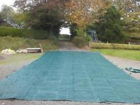 For Sale Swimming Pool Cover Winter Debris fit pool 20x40ft VGC