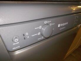 Hotpoint Aquarius full size dishwasher.