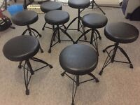 8 Drum / Guitar Stools (sold separate or together)