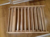 wooden playpen