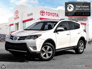 2015 Toyota RAV4 XLE FWD XLE+Alloys+Sunroof