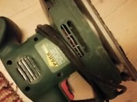 Orbital Hand Sander - Parkside PSS 260 - used, with box and instructions