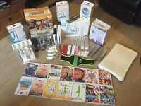 Nintendo wii bundle 2x wii consoles, games,Zumba belt , wii fit and much more !!!!