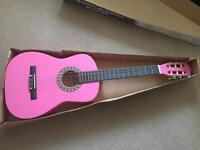 "Elevation 36"" Pink Classic Guitar"