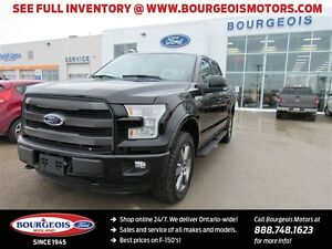 2016 Ford F-150 LARIAT 4X4 CREW TWIN PANEL MOONROOF NEW 502A