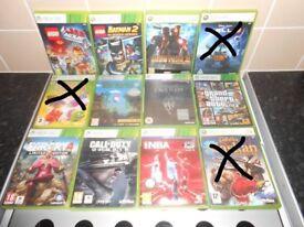 XBOX 360 GAMES X58
