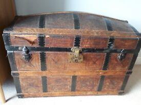 Beautiful Antique storage chest/ treasure chest