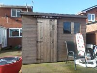 10 ft x 10 ft Garden shed