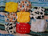 Dotty Bots cloth nappies brand new