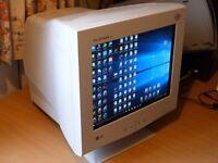 LG flatron monitor, 17 inch. CRT