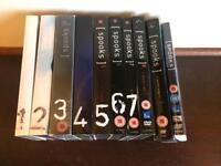Complete 'SPOOKS' series 1-9 (plus movie) on DVD