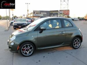 2012 Fiat 500 Sport AccidentFree-One Owner