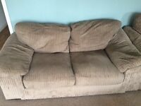 2 seater sofa bed & arm chair set matching