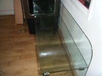 SIDEBOARD ALL SAFETY GLASS VGC
