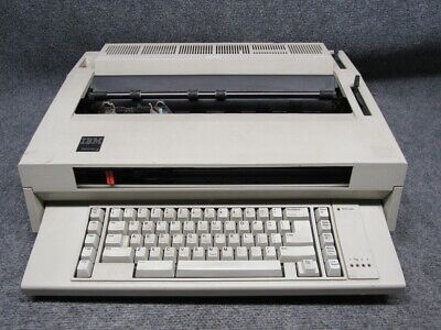 Vintage Ibm Wheelwriter 3 Electronic Typewriterword Processor 1985 Working