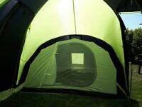 6 man tent used twice .
