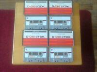 VINTAGE TDK Blank cassettes