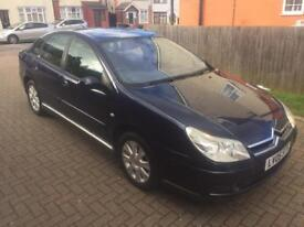 CITROEN C5 DIESEL AUTOMATIC 2005 BLUE FULL HISTORY FULLY LOADED ONLY 140K MILEAGE