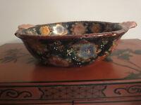Satsuma style fruit bowl- China - second half 20th century