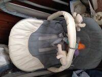Baby swing seat bouncer rocker