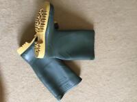 Wellies / wellington boots. Uk size 9