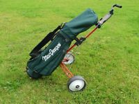 Complete Golfing Kit Clubs Bag and Trolley