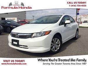 2012 Honda Civic LX | BLUETOOTH | FUEL EFFICIENT - FORMULA HONDA