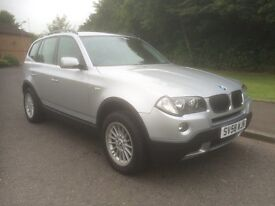 BMW X3 2.0 20d SE 5dr EXCELLENT X3 , MOT MARCH 17