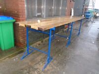 builders trestles and planks
