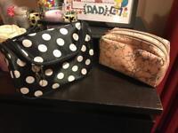 2 make up bags