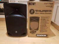 "Mackie Thump 15"" Active Speaker - VGC (1000W)"