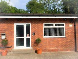 Room's/Office's to Rent Alvechurch area has parking, waiting room, men's/ladies' toilets & kitchen.