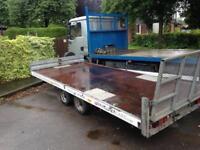 Power boat - trailer - recovery trailer