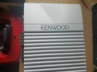 Kenwood amplifiers PAIR one for speakers one for woofer