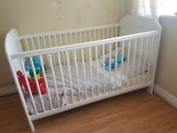 Used cot bed for sale. Very good condition