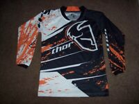 KTM Orange Thor Motocross Jersey - Youth M