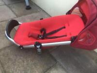 Used red Quinny pushchair (seat only)