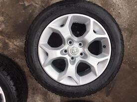 "16"" alloys brand new with really good tyres"