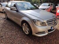 Mercedes-Benz C Class 2.1 C220 CDI BlueEFFICIENCY SE (Executive) 4dr (Map Pilot)£8,995 p/x welcome