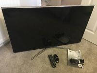 """Never used 40"""" Samsung LED TV with built in HD freeview tuner."""