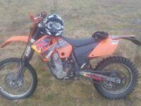 KTM exc 2006 road legal