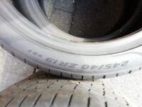 Pirelli P Zero Part Worn for big Sportscar (F-Type, AMG, E-Class, Genesis, Tesla 3, M3, 5 Series