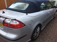 Saab aero convertible for sale