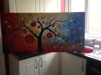 Tree of life acrylic painting on canvas