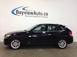 2015 BMW X1 28i- AWD! TWIN TURBO! PANOROOF! LEATHER! BLUTOOTH!
